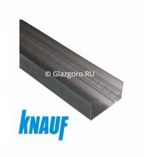 Профиль направляющий для гипсокартона ПН 75*40*3000 Кнауф (Knauf)