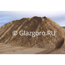 Песок речной с доставкой  6м3